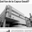 ¿Qué fue de la Capsa Gaudí? TATE CABRÉ – 29/03/2004 Paseando por el Mercadal de Reus me encaré inesperadamente con unas banderolas que cuelgan del horrendo edificio del banco de […]
