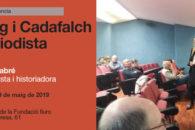 Conferència a Mataró sobre Puig i Cadafalch, a l'Auditori de la Fundació Iluro.