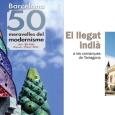 """Entrem a l'any 2015 amb dos nous llibres: Una compilació de les 50 meravelles del Modernisme de Barcelona, amb magnifiques fotografies de Miquel Badia, i un estudi sobre els indians de Tarragona. We start 2015 with two new books: """"The 50 marvels of Modernisme in Barcelona"""" and """"The legacy of the 'indians' in Tarragona"""" (those emigrants who invested their fortunes in their homeland)"""