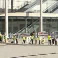 Protesta dels guies habilitats al saló Seatrade Med Cruise Convention 2014
