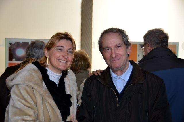 A l'exposició sobre Gaudí i la Natura amb Joan Palmarola