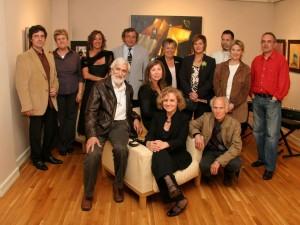 Foto de grup dels artistes participants en l'edició 2008
