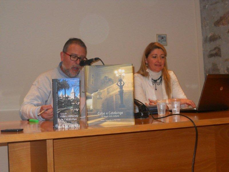 Conferència eEl llegat dels Indians a Catalunya - Viladecans Març 2014