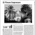 El arquitecto reusense Domènec Sugranyes, hombre de confianza, albacea y continuador de las obras de Gaudí en la Sagrada Familia, cumpliría hoy 125 años. Y hoy comienza el Fòrum Sugranyes. […]